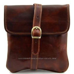 Шикарный кожаный мессенджер Joe от Tuscany Leather, сумка для планшета