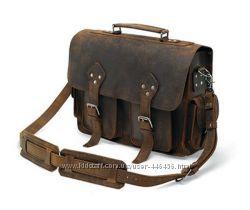 Большая кожаная сумка, тревелбег, джимбег