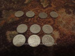 Монеты-2 коп. аллюминиевые