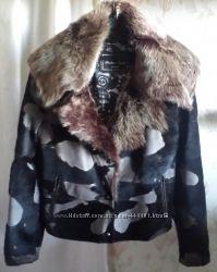 Куртка дубленка мех тоскана р L