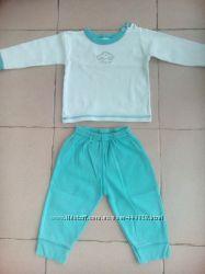 Костюм комплект штаны и кофта на 6-9 месяцев