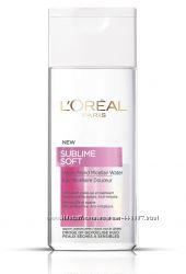 Мицеллярная вода для снятия макияжа LOreal Paris Sublime Soft. Оригинал