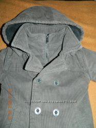 Вельветовое пальто-куртка