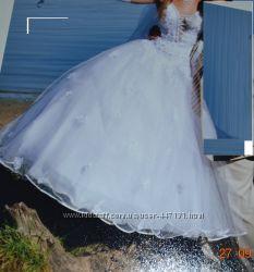 Продам свадебное платье, не венчанное,