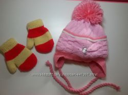 Зимняя шапка barbaras и варежки