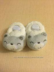 Пинетки тапочки для девочки или мальчика плюшевые мишки