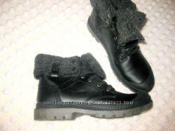Женские ботинки демисезонные 38размер, 24см стелька