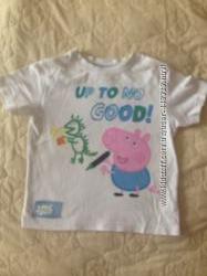 Продам футболки с кор. рукавом для мальчика бу на рост 87-97 см.