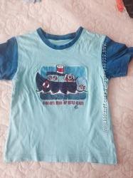 Продам футболки с коротким рукавом для мальчика бу на рост 110 см