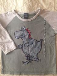 Продам футболки с дл. рукавом для мальчика бу на рост 98-110