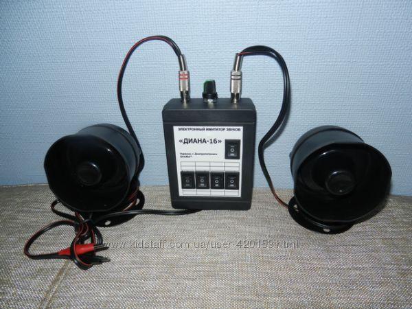 Электронный манок Диана-16 16 голосов  2 динамика