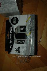 canon картридж PG-40Bk 40 Canon CL-41 Color 41
