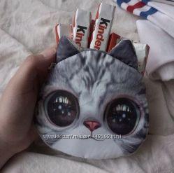 Новый женский клатч котёнок