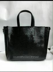 Новая кожаная сумка Celin красная черная коричневая