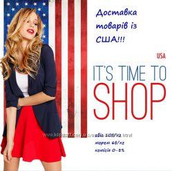 Замовлення та доставка товарів з інтернет-магазинів Америки США
