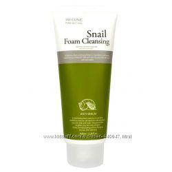 Очищающая пенка 3W Clinic Snail Foam с фильтратом улиточной слизи 100м