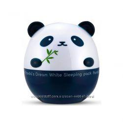 Ночная осветляющая  маска от Tony Moly Panda Dream White Sleeping 50мл