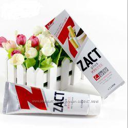 Отбеливающая зубная паста Zact Plus для курящих и кофеманов 150гр