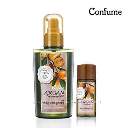 Шикарное аргановое масло для волос WELCOS Confume Argan Treatment 120-25мл