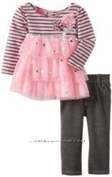 Комплект туничка с брючками Young Hearts США на 12 и 24 месяцев