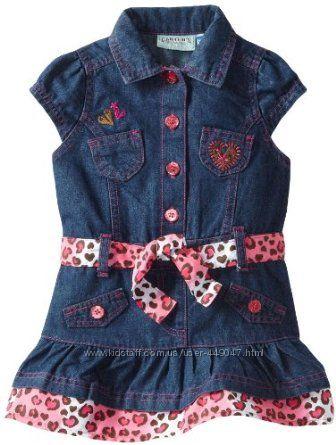 Джинсовое платье Carters США, размер 3 годика