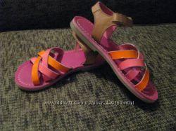 Кожаные сандалии Kickers