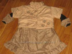 Комплект платье-топ весна-осень