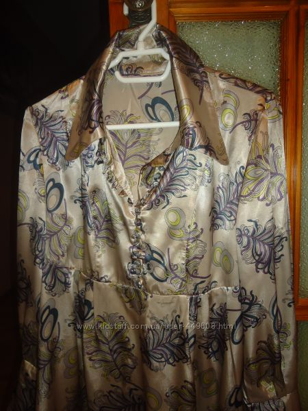 Оригинальная рубашечка - туничка для беременной леди