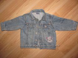 Куртка джинсовая р. 92см