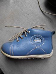Демисезонные кожаные ботинки туфли Ortopedia
