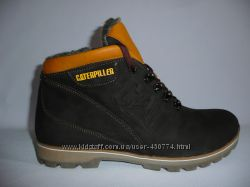 Кожаные мужские кроссовки Caterpillar новые.
