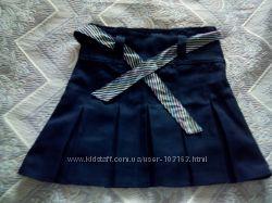 Синяя школьная юбка U. S. POLO ASSN