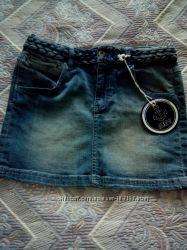Симпатичная джинсовая юбка для подростка