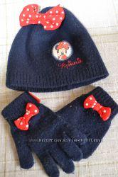 Шапка и рукавички Minnie