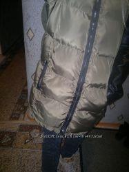 Куртка пуховичек  zara с вязаной спиной