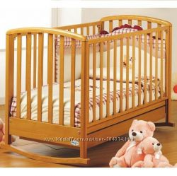 Кровать детская Baby Italia Dalia цвет вишня. Новая. Дешево
