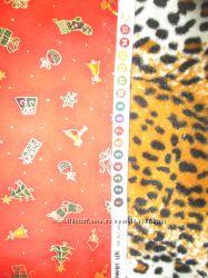 кусочки ткани для рукоделия новогодняя тематика