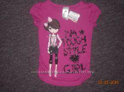 новая модная футболка Palomino на рост 92