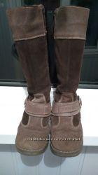 Зимние кожаные сапоги Arial 31 размера