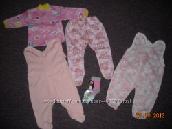 новая одежда для новорожденной малышки