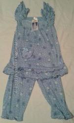 Пижама штанишки чуть ниже колен и майка