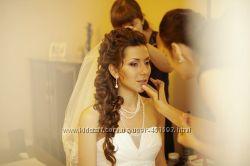 Свадебный макияж. Свадебная прическа. Визажист и парикмахер на свадьбу.