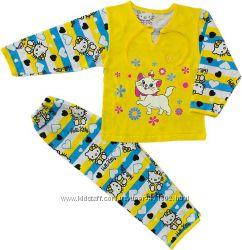Пижамки для детей. Хлопок 100. Пр-во Украина.