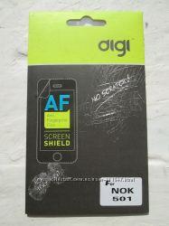 Пленка algi на Nokia Asha 501 и Huawei G510D