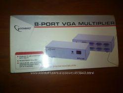 Сплитер VGA 8 Port Gembird GVS128 разветвитель, ком. -8 мониторов