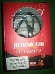 Веб камера с микрофоном и подсветкой. 6 LED 2 типа