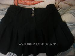 юбка чёрная  tammy на рост 140- 150