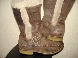 кожаные сапоги Clarks 13 F 20, 5 см