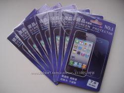 Защитные пленки для мобильных телефонов, планшетов  универсальные до 19