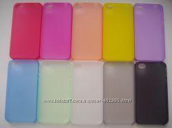 Ультратонкий чехол из пластика 0, 2мм для Apple iPhone 4, 4S, 5, 5S, 6 , 6